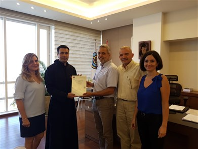 "Notre Dame des Secours University Hospital received ""ISO 9001-2015"" certification"